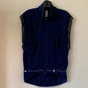 Adidas by Stella McCartney's sleeveless jacket